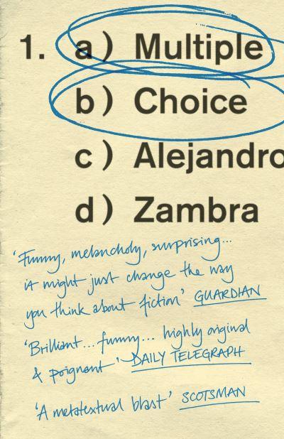 Multiple Choice - Alejandro Zambra