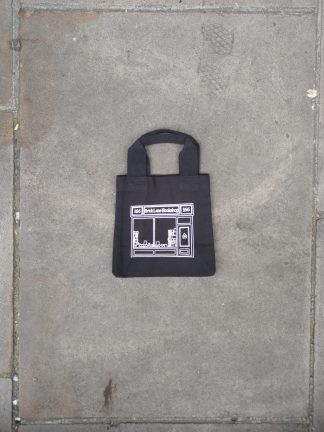Black Mini Shopper Bag