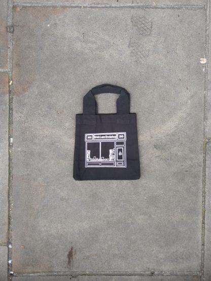 Black Mini Shopper Bag