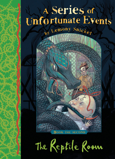 SOUE Book 2 Reptile Room - Lemony Snicket
