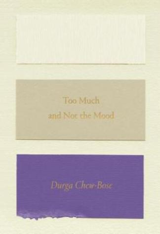 Too Much and Not the Mood - Durga Chew Bose