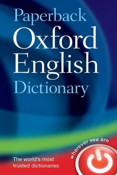 Paperback Oxford English Dictionary 7th -  ,