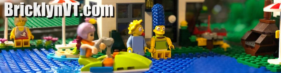 Marge at Lake Bricklyn