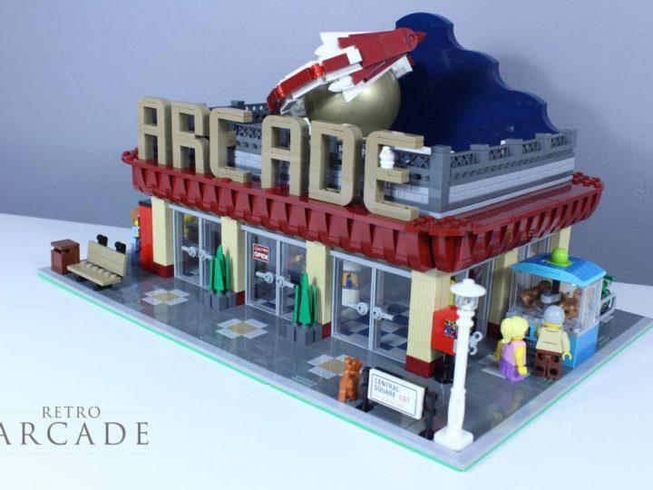 LEGO Ideas Retro Arcade