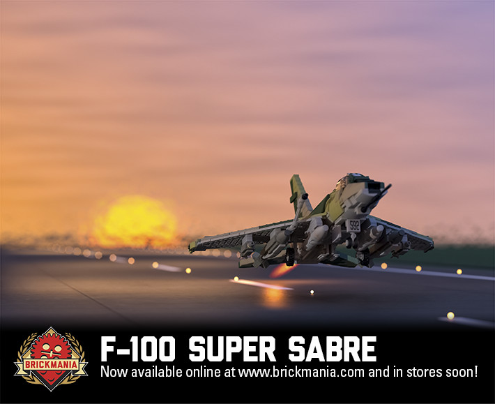 New Release  F 100 Super Sabre   Brickmania Blog New Release  F 100 Super Sabre
