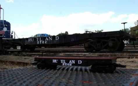 Rutland Flatcar