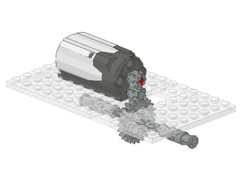 Climax Locomotive Main Drive System