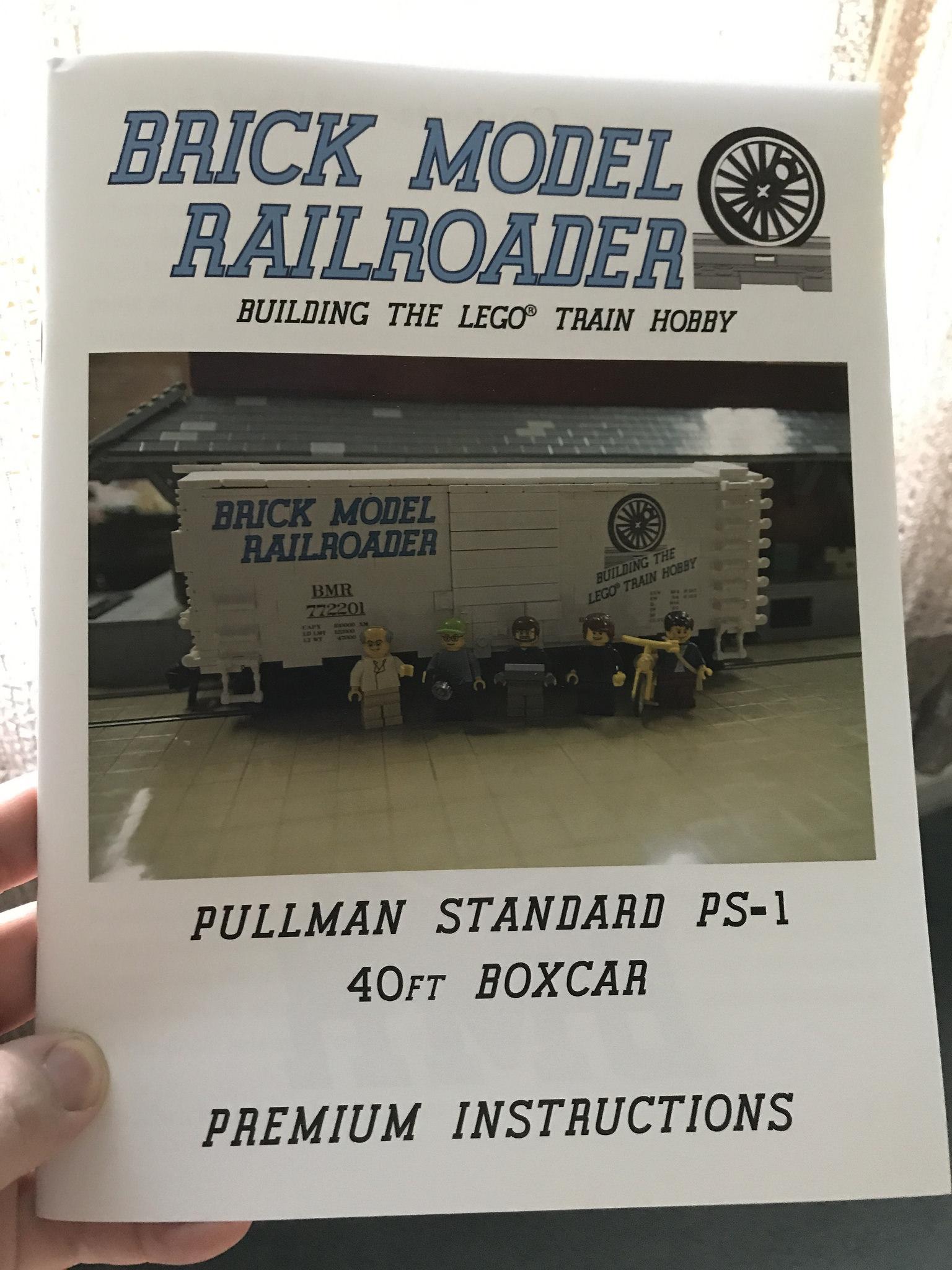 Pullman Standard Ps 1 40 Boxcar Brick Model Railroader