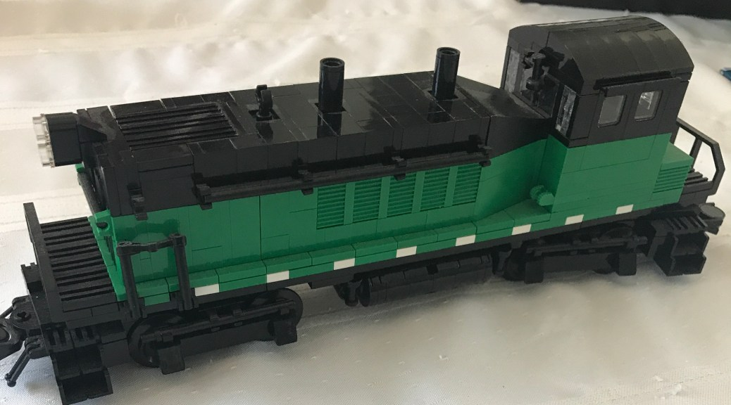 Lego Train Instructions Brick Model Railroader