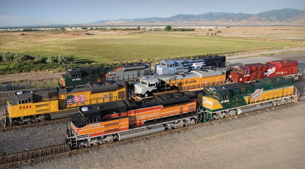 Union Pacific SD70ACe Heritage Fleet – 6 Locomotives ...