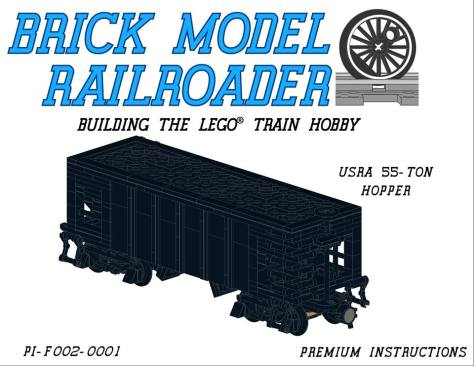 Lego Instructions Brick Model Railroader