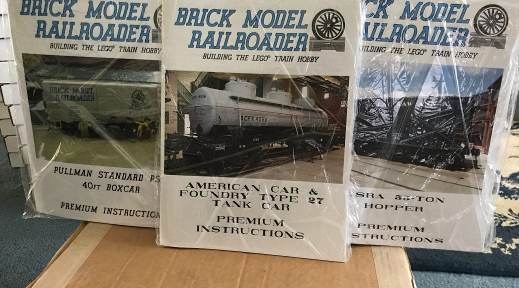 Instructions Brick Model Railroader