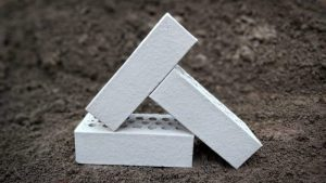 White Wirecut Brick