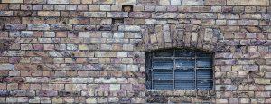 window, wall, old