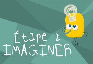 Etape 2 Imaginer