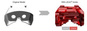 Comment transformer un modèle 3D en maquette LEGO