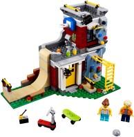 31081 lego creator modular skate house 1