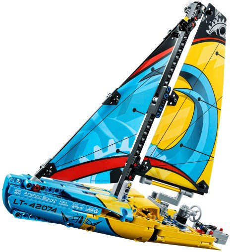 42074 lego technic racing yacht 3