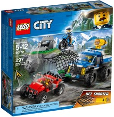 60172 lego city dirt road pursuit 2