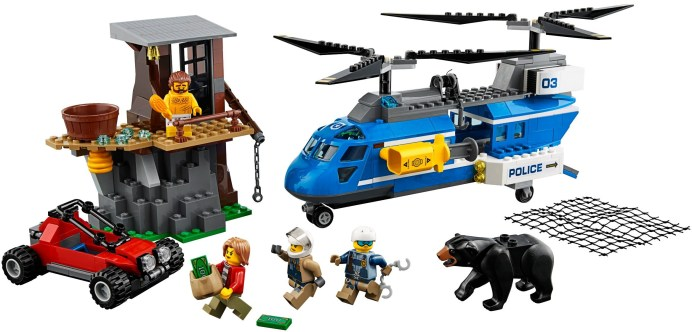 60173 lego city mountain arrest 1