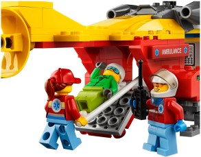 60179 lego city ambulance helicopter 5