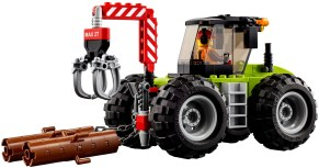 60181 lego city forest tractor 4