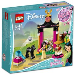 41151 lego disney mulan's training 1