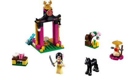 41151 lego disney mulan's training 2