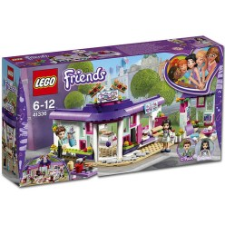 41336 lego friends emma's art cafe 1