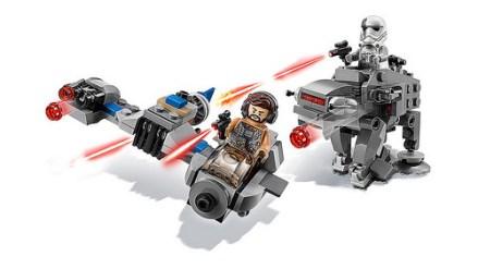 lego star wars 75195 Ski Speeder vs. First Order Walker Microfighters 2