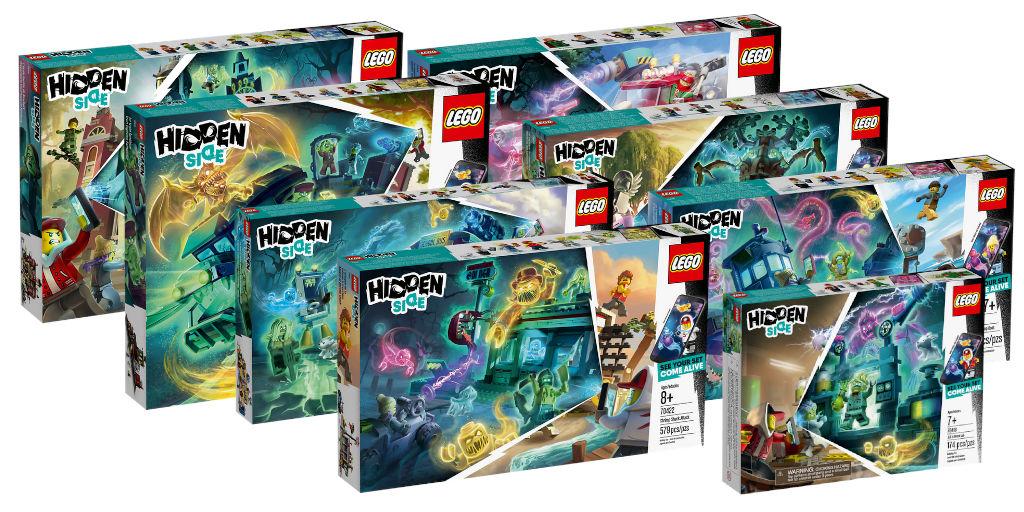 nouveautés lego hidden side  disponibles en précommande