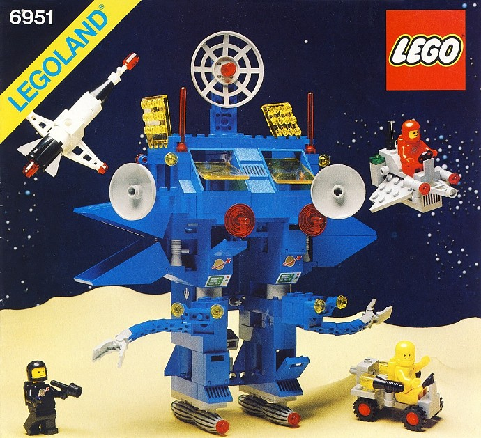lego classic space 6951-1
