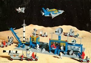lego spazio anni 80