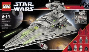 6211 Imperial star destroyer Lego