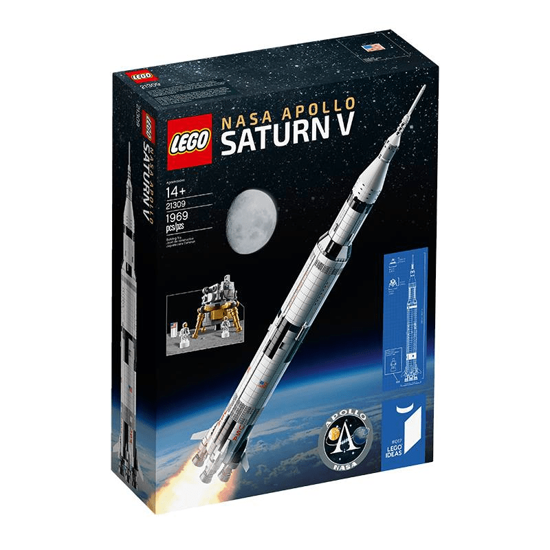 Introducing LEGO® Ideas 21309 NASA Apollo Saturn V