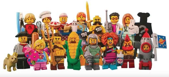 nuova serie 17 Minifigures