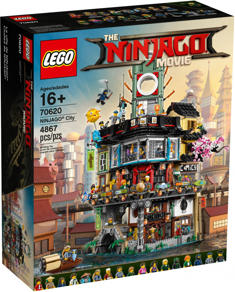 set 70620 – NINJAGO City