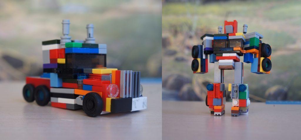 Легодан робот трансформаторы