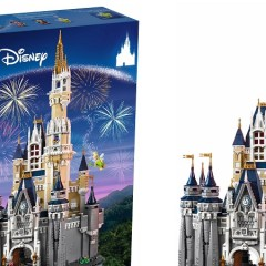 David Beckham Completes The LEGO Disney Castle