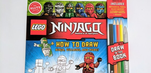 LEGO NINJAGO How To Draw Book Review