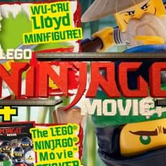 LEGO NINJAGO Movie Magazine Out Now