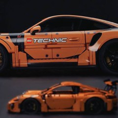 Porsche 911 GT3 RS Gets A Technic Makeover