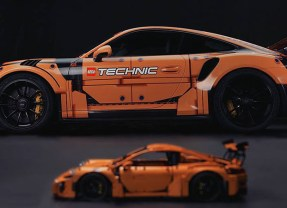 Porsche 911 GT3 RS Gets A Technic Makeover