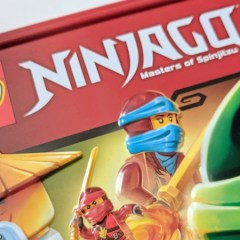LEGO NINJAGO Gift Tin Book Review