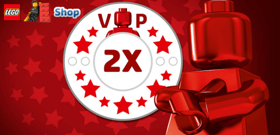 Double LEGO VIP Points Begins Today