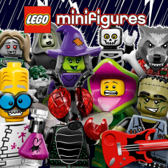 A Look At LEGO…. Spooky Minifigures