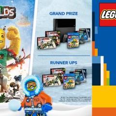 Create A Winter Wonderland With Rebrick & LEGO Worlds
