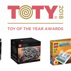 LEGO Win Big At The 2018 Toy Awards