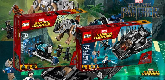 A Look At LEGO…. Black Panther