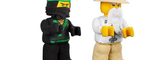 New LEGO NINJAGO Plush Toys Now Available